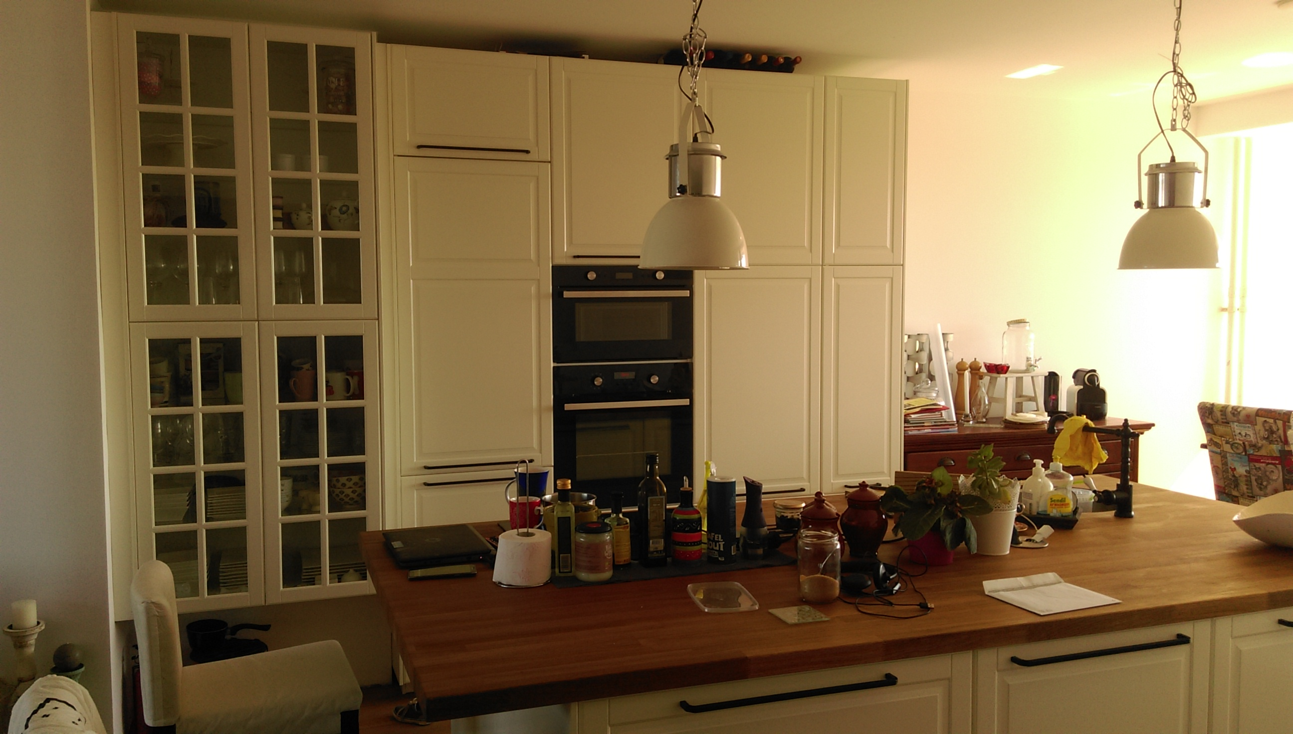 Plaatsen Ikea keuken met keuken eiland